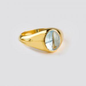 Aquamarine Box Rose Elegant Gold Ring Jewel Archives 5Rcjq4LA3